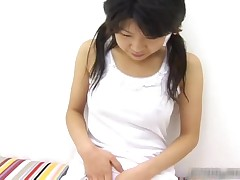 Horny Japanese Teen Masturbating Video Clip 1 By AmazingJav