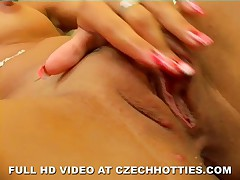 Exotic Czech Girl Loves Huge Toys