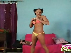 Teen Emery - Chick Shows Her Clit