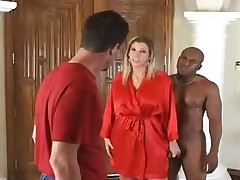 Blonde milf is a mean bitch