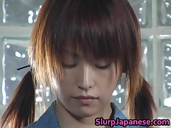 Jun Nada - Pretty Teen Jun Nada Masturbating And Sucks Cock 1 By SlurpJapanese
