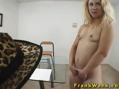 Chloe - Blonde Schoolgirl Gives Head