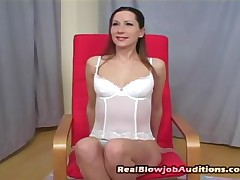 Alexandra - Real Blowjob Auditions