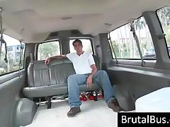 Two Dudes Picking Up Chicks In Their Bus For Fuck