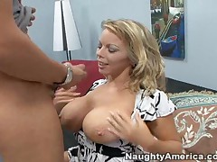 Amber Lynn Vs Chris Johnson - My Friends Hot Mom