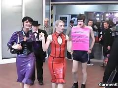 Dirty Carmen In Perverse Hard-core Bondage Porno Clip 4 By CarmenKinky