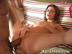 Katie Thomas Vs Shane Diesel - She Feels The Desruction Take Place