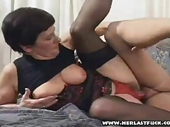Hairy Granny Bent Over And Fucked Hard