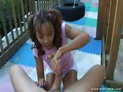 Keeani Lei - Teen Handjobs #2