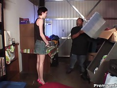 Zoe Voss - Freaky Looking Teen Zoe Voss Found Out To Be Perfect Fuck Whore