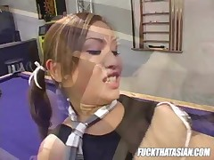 Tia Tanaka - Cute Asian Chiki Gets Nailed