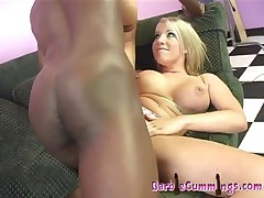 Barbie Cummings - Huge Black Cocks