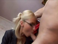 Helena Sweet - Busty Secretary Helena Sweet Fucking On An Office Desk Wearing Lingerie