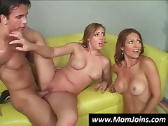 Three Horny Bitches Sharing A Lucky Cock