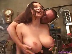 Big Breasts Babe Gets Fucked In Pussy And Tittyfucked