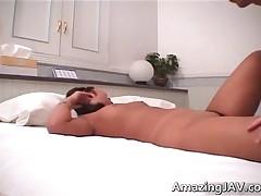 Asian Slut Gets Her Hairy Pussy Fucked Video 3 By AmazingJav