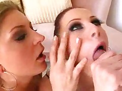Gianna Michaels and Avy Scott share big cock