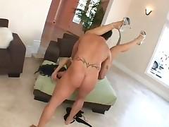 Dark hair Adores Big Cocks In Her Butt