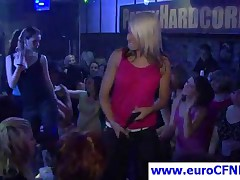Seductive Party Girl Gets Pussy Licked By Stripper