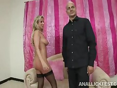 Arielle Alexis - Brunette Babe Gets Her Butthole Licked By Her Hot Girlfriend
