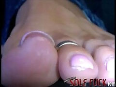 superficial footjob