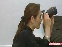 Alyssa Milano - Celebrity Lesbian Scene