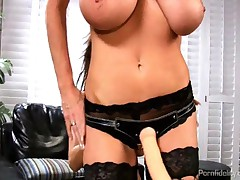 Kelly Madison And Angelina Valentine - Angelina Valentine Gets Her Pussy Drilled By Busty Babe Kelly