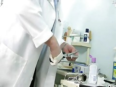 Monika - Gyno Patient Monika Pussy Speculum Gyno Clinic Examination