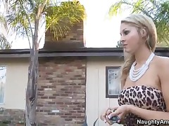 Natalie Vegas Vs Ryan Blaze - Naughty Rich Girls - Natalie Arrives Home To Find That Her Out-of-town