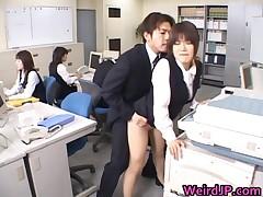 Cute Asian Secretary Fucked In The Office 3 By WeirdJP