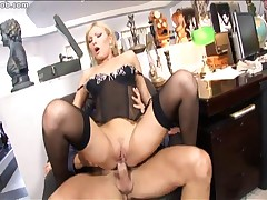 Aletta Ocean And Carla Cox And Defrancesca Gallardo And Donna Bell And Renata Black - Secretaries #3