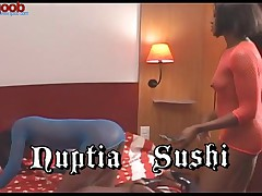 Sushi And Nuptia - Chocolate Pussy Factory #1 - Scene 2