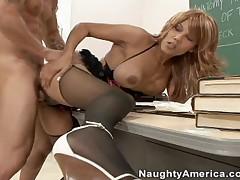 Alan Stafford Vs Anjanette Astoria - My First Sex Teacher