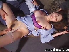Asian Slut Riding Cock Like A Pro 2 By AmazingJav