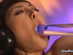 Horny Japanese Teen Babe Gets Fucked With Some Kinky Electro Toys By OnePondo