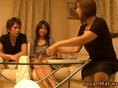 Japanese Mature Women Have A Threesome With One Guy 1 By JapanMatures