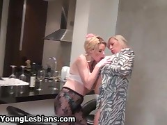 Horny Teen Girl Loves To Play With This Mature Wife Her Big Tits By OldNYoungLesbians