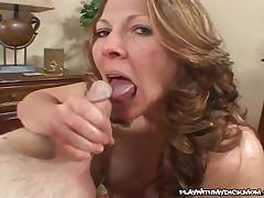 Abby - MILF Jerks A Hard Cock