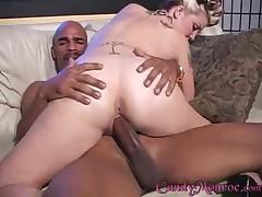 Candy Monroe - Double Big Black Cocks