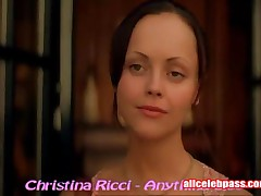 Christina Ricci - Christina Ricci In Sexy Black Bra