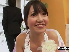 Cute Japanese Teen Girl Gets Groped And Showing Her Tiny Tits By OnePondo