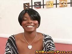 Stacey Adams - Big Tit Patrol - Natural Black 38DDs
