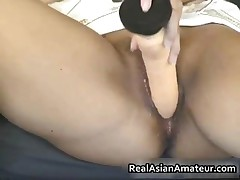 Slutty Asian Grabs Her Hot Tits Spreading Her Pussy 4 By RealAsianAmateur