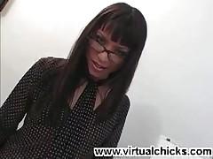 Jayna Oso - Hot Teacher Stripping Off