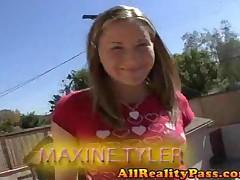 Maxine Tyler - Big Cock Teen Addiction - Teens Pussy Filled With Big Cock