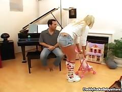 Victoria White - Cock Loving Babysitter