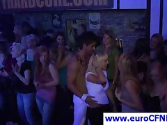 Shameless Party Girls Having Wild Fun With Stripper