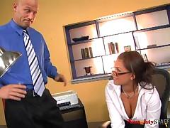 Eva Angelina - Naughty Staff - Attitude Adjustment
