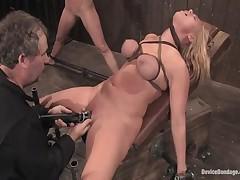 Ariel X And Mellanie Monroe - Device Bondage