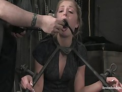 Sara Faye And Jaelyn Fox - Device Bondage